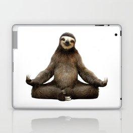 Sloth Yoga Art Print Laptop & iPad Skin