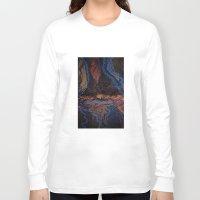 lightning Long Sleeve T-shirts featuring Lightning by Atziri