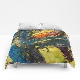 Blue Swipe Comforters