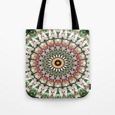 Lovely healing Mandala in brilliant colors Tote Bag