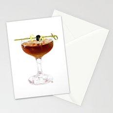 Game Set Match cocktail Stationery Cards