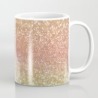 champagne Mugs featuring Champagne Shimmer by Lisa Argyropoulos