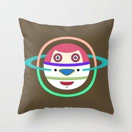 Spaceman 3 Throw Pillow