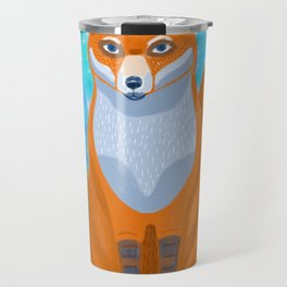 Fox in the woods Travel Mug