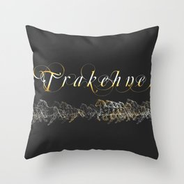 Trakehner Horses Fan-Laptopskin Throw Pillow