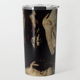 Alonso de Escobar - Still Life, night, art, black Travel Mug