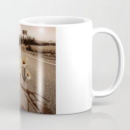 Exhausting Pipe Flowers Coffee Mug