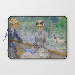 Summer's Day by Berthe Morisot Laptop Sleeve