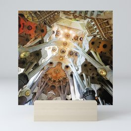 Sagrada Familia by Gaudi, Barcelona Cathedral Mini Art Print