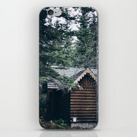 cabin iPhone & iPod Skins featuring Cabin by Garrett Lockhart