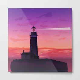 Heartlight Metal Print