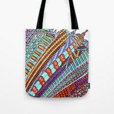 Between Moon & City Tote Bag