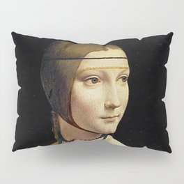 THE LADY WITH AN ERMINE - DA VINCI Pillow Sham