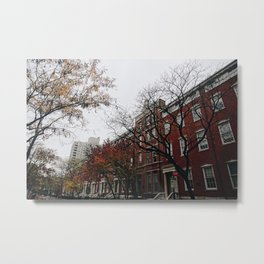 NYC Fall & Buildings-pt.3 Metal Print