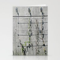 the wire Stationery Cards featuring Wire Trellis  by Ethna Gillespie