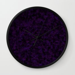 Dicing Plums in the Dark Wall Clock