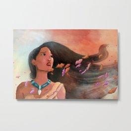 Colors of the wind Metal Print