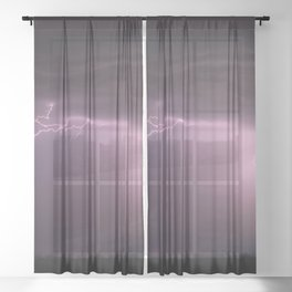 Summer Storm Sheer Curtain