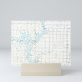 SD Onida 344705 1986 topographic map Mini Art Print