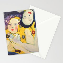 Klimt Girls Stationery Cards