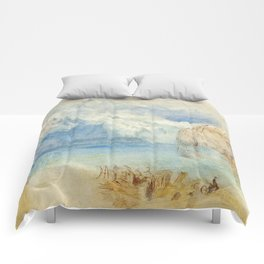 """J.M.W. Turner """"The Lake of Lucerne from Fluelen"""" Comforters"""