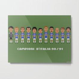 Sampdoria 90-91 Metal Print