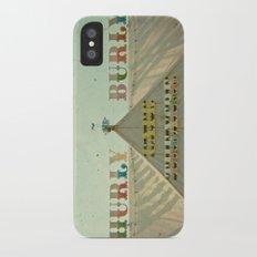 Hurly Burly iPhone X Slim Case