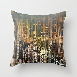 Density / Urban Throw Pillow