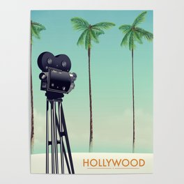 Hollywood Travel poster Poster