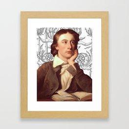 John Keats Framed Art Print