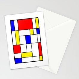 Mondrian #62 Stationery Cards
