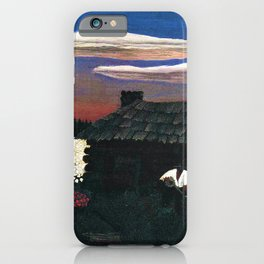 African American Masterpiece 'Cabin in the Cotton No 3' by Horace Pippen iPhone Case