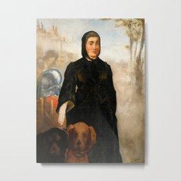 Édouard Manet - Femme aux chiens Metal Print