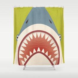 Shark Fowler Shower Curtain