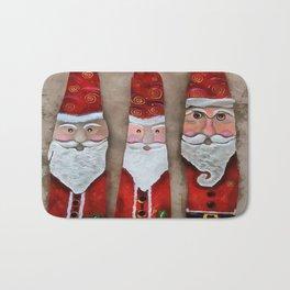 Santa Claus, Father Christmas, and St Nick Bath Mat