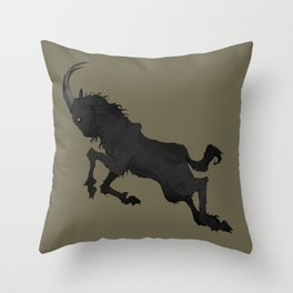The Goat Throw Pillow