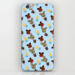 Snack Goals Theme Parks iPhone Skin