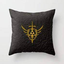 ZELDA SHIELD Throw Pillow