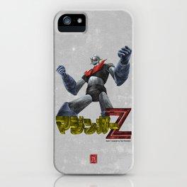 Mazinger Z  ( colours version) iPhone Case
