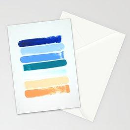 Beach Stripes Stationery Cards