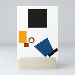 Geometric Abstract Malevic #5 Mini Art Print