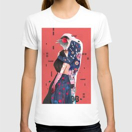 """""""LOVE"""" (Turn your head to the sky, we're burning in the heat below) T-shirt"""