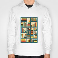 library Hoodies featuring library by vitamin