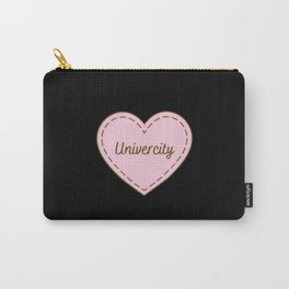 I Love Univercity Simple Heart Design Carry-All Pouch