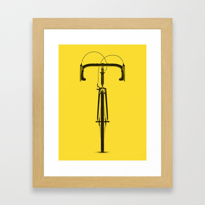 La Bicyclette Framed Art Print