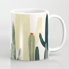cactus natural vertical Coffee Mug