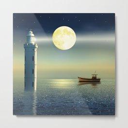 The fairy lighthouse Metal Print
