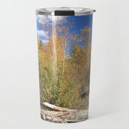Autumn's Day Log Jam Travel Mug