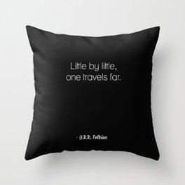 J.R.R. Tolkien Throw Pillow