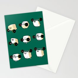 OLYMPIC LIFTING  Tofu Stationery Cards